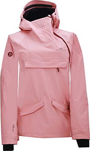 2117 of Sweden Damen Women's Hentorp Eco 3L Jacket Skijacke Rosa/Rot 34