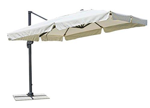 minuto & salomone ombrellone a Braccio Laterale Ripiegabile Mis. 300x400cm art350