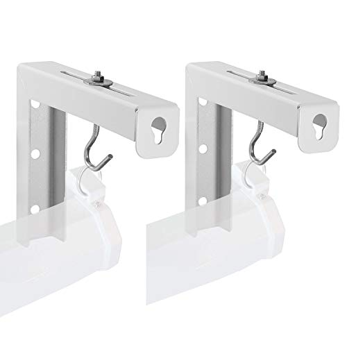 Universal Projector Screen L-Bracket Wall Hanging Mount 6 inch Adjustable Extension with Hook for...