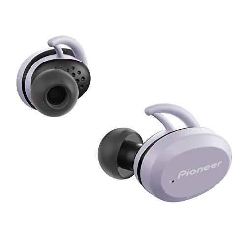PIONEER - Cuffie sportive SE-E9TW-H colore grigio, senza fili, connettività Bluetooth versione 5.0