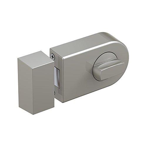 BASI Felgenschloss KS 500R halbrund mit Türschutz, R1306-0205, silber, R1301-0205