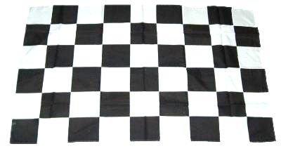 Fahne/Stockflagge Start/Ziel Karo 30 x 45 cm Flagge