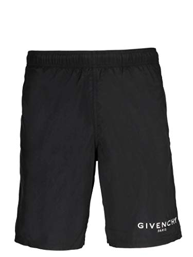 Givenchy Luxury Fashion Herren BMA0051Y5N001 Schwarz Polyester Badeboxer | Frühling Sommer 20