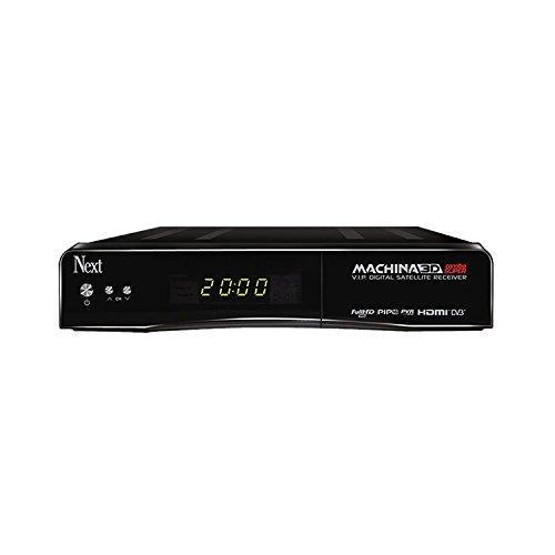 NEXT DVB-S & DVB-T Kombo-Receiver Machina 3D CI Schacht, Kartenleser