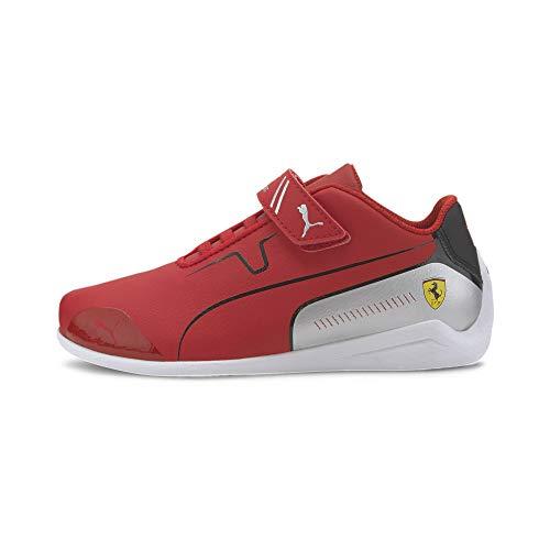 PUMA Ferrari Drift Cat Kids Sneaker Rosso Corsa-Puma Black UK 2_Youth_FR 34.5