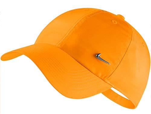 Nike U Nk H86 Cap Metal Swoosh Gorra, Unisex Adulto, Orange Peel, Talla Única