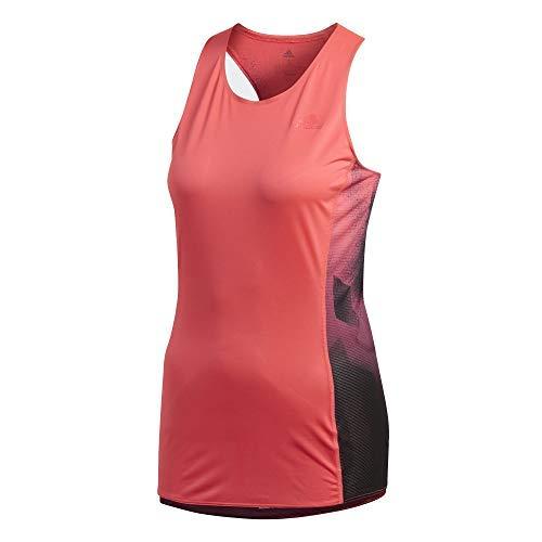 adidas Mujer Sub 2 Singlet W Camisetas Mujer Rojo, XL