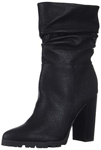 Katy Perry Women's The Raina Mid Calf Boot, BLACK, 8.5 M M US
