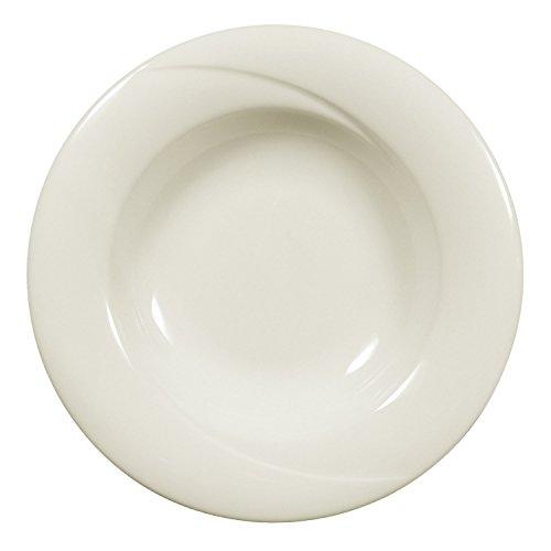 Seltmann Weiden 001.045366 Orlando - Suppenteller/Teller tief - rund - Ø 23 cm - Porzellan - Cream/Elfenbein