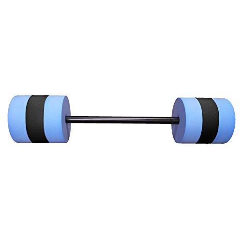 Aerobic Blue Swim Bar for Buoyancy-Based Swim Training and Swim Lessons, Aquatic Fitness Equipment, Aqua Training Barbell, Water Aerobics Equipment, Swimming Aid for Children to Seniors