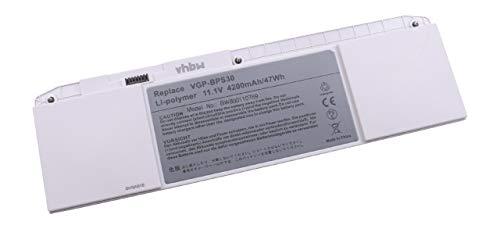 vhbw Li-Polymer Akku 4200mAh (11.1V) für Notebook Laptop Sony VAIO SVT111A11W, SVT131, SVT1311, SVT13112FX, SVT13112FXS wie VGP-BPS30, VGP-BPS30A.