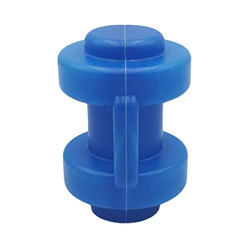 8 PCS Trampoline Recinto Pole Cap PE Bounding Table Cubierta protectora Cap para Net Hook Pole en 2.5-2.8cm Diámetro