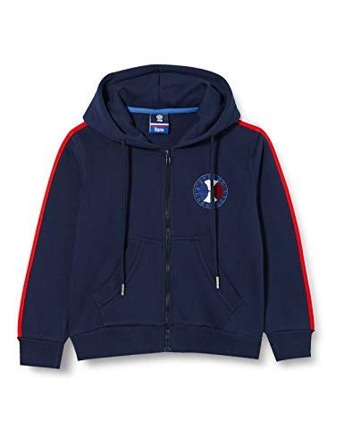 France Basketball Saison 20/21 Life Style Enfant Sweatshirt à Capuche, Bleu, 10 Ans Fille