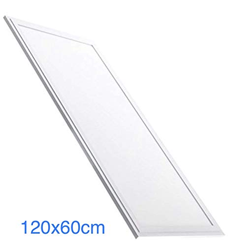 Panel LED Slim 120x60 cm. 72W. Color Blanco Frío (6500K). 6200 lumenes. Driver incluido. A++