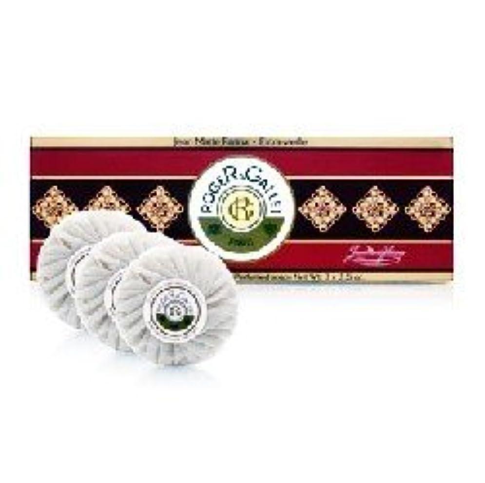 試してみる記念品時間厳守ロジェガレ ジャンマリーファリナ 香水石鹸3個セット ROGER&GALLET JEAN MARIE FARINA SOAP