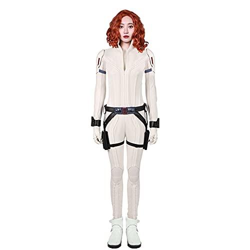 Hero White Costume Suit Jumpsuit