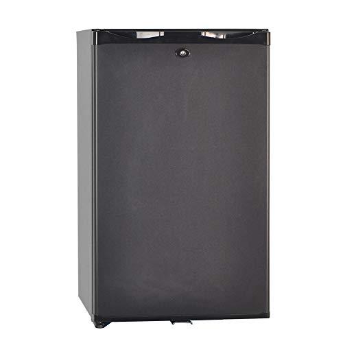 dorm refrigerator with locks Smad Portable Single Door Absorption Mini Fridge No Noise With Lock & Adjustable Foot & Reversible Door,1.7 cu ft