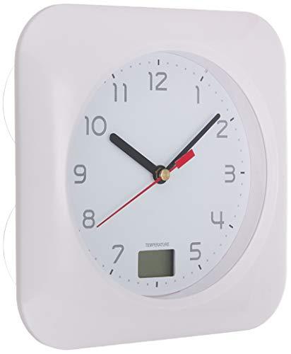 オーム電機 お風呂用クロック&温度計 HB-T10 HB-T10-W