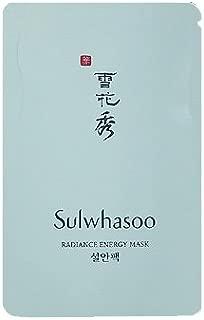 Sulwhasoo Radiance Energy Mask 4mlx20ea 80ml Korea cosmetic