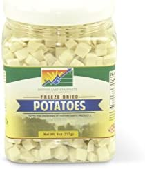 Mother Earth Products Freeze Dried Potatoes quart Jar product image