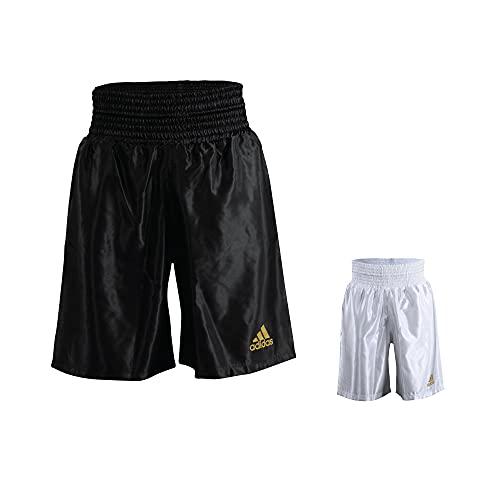 adidas - Pantaloncini da Combattimento in Raso da Boxe, Unisex