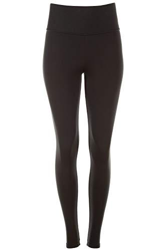 "WINSHAPE Damen Keep me Warm"" Thermo-Leggings Tights WTPL1, Slim Style, Fitness Freizeit Sport, schwarz, M-LONG"