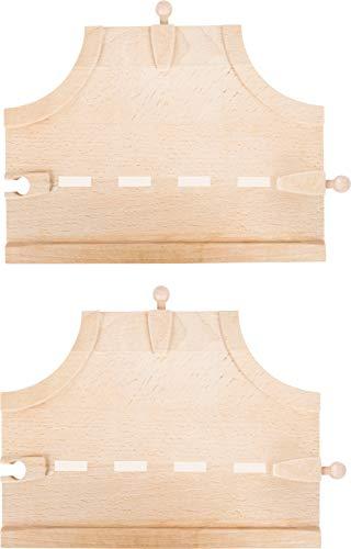 kolejka drewniana z ikea