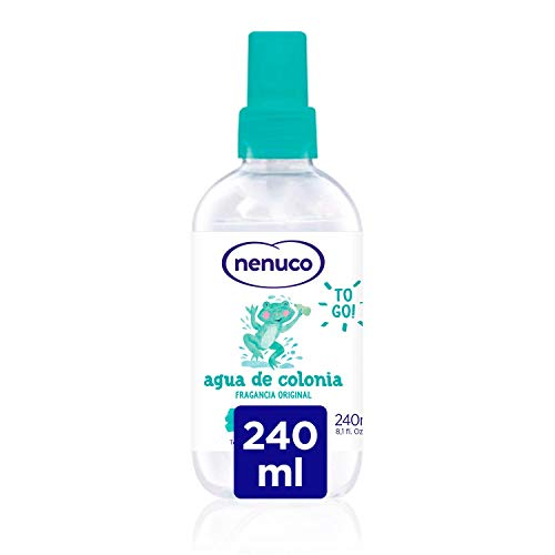 Nenuco Agua de Colonia recomendado para bebés,  fragancia original -  formato spray 240 ml