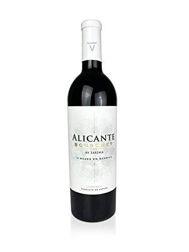 BODEGAS Y VIÑEDOS VOLVER | Vino Tinto Alicante Bouschet |Variedades Alicante Bouschet y Cabernet Sauvignon | D.O. Alicante | Cosecha de 2017 | (1 Botella x 750 ml) |