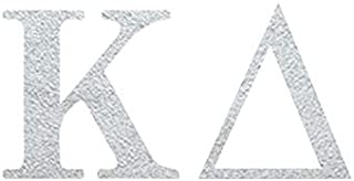 Kappa Delta Ltrs Temporary Tattoos (10-Pack) | Skin Safe | MADE IN THE USA| Removable