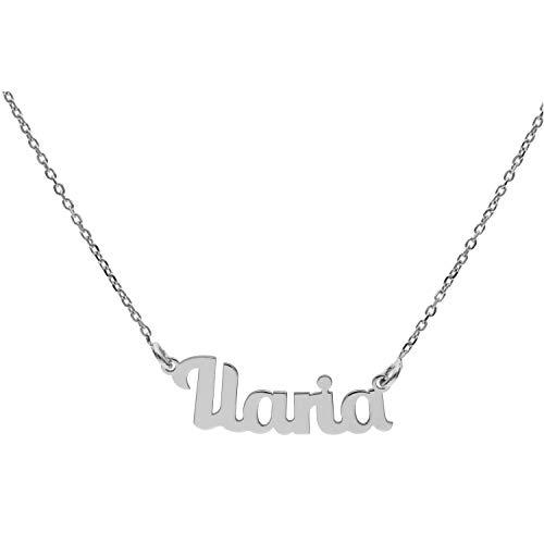 Collana In Argento Con Nome (I) (Ilaria)