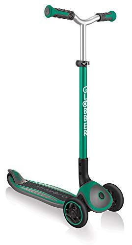 giordano shop Globber Master - Patinete de 3 ruedas, plegable, 5 alturas, máximo 50 kg, color verde
