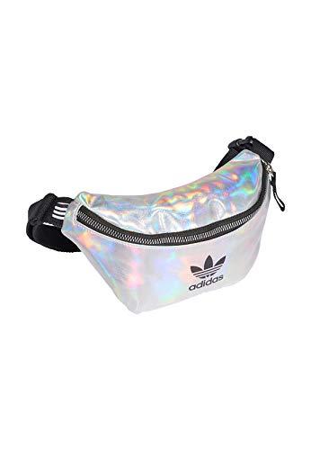 adidas Waistbag, Cintura Running Donna, Silver Met./Iridescent, NS