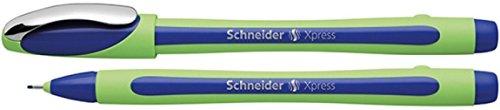 Schneider Xpress Fineliner (Strichstärke 0,8 mm, dokumentenecht)blau