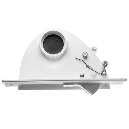 """vhbw Sockeleinkehrdüse passend für Zentral-Staubsaugeranlagen mit 50,8mm Durchmesser/ 2\"""" Rundrohrsystem"""