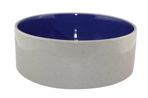 Ethical 7-1/2-Inch Stoneware Crock Dog Dish
