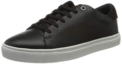 Ted Baker mens Darall Sneaker, Black, 10.5 US