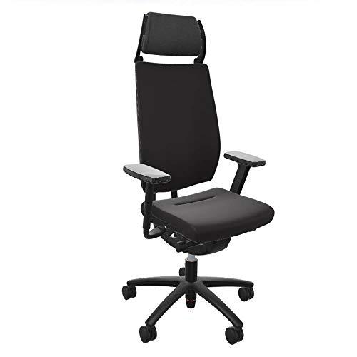 Sedus Swing Up - Silla de oficina ergonómica, ideal para sentarse de forma saludable, con acolchado completo, para personas grandes de hasta 150 kg