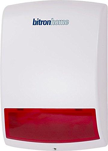 Telekom 40291320 99922079 Smart Home Außensirene (ZigBee), weiß