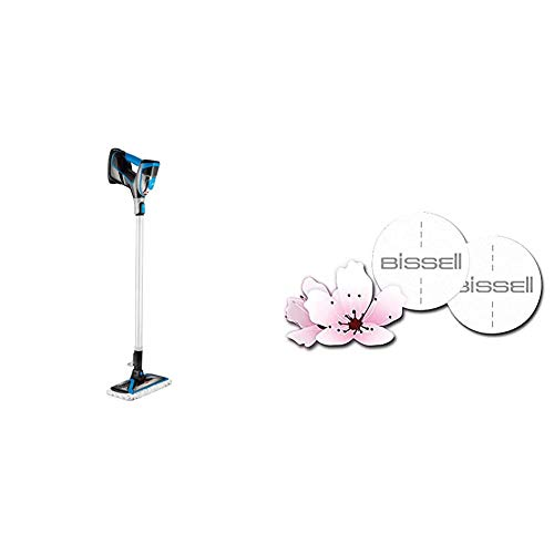 Bissell 2234N PowerFresh Slim Steam 3-in-1 Dampfreiniger, Dampfmopp + Spring Breeze Duftscheiben mit Frühlingsduft für PowerFresh, PowerFresh Slim Steam und Vac&Steam, 8 Stück