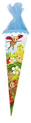 Trötsch Wiesenfreunde Schultüte 35 cm zur Einschulung Geschwistertüte