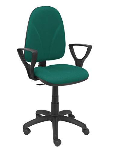 Piqueras Y Crespo (PIQU7) stoel Algarra Bali groen vaste armen kantoor, eenheidsmaat