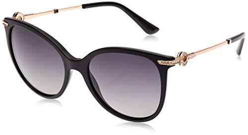 Bulgari 0BV8201B 501/T3 55 Gafas de sol, Negro (Black/Polargreygradient), Mujer