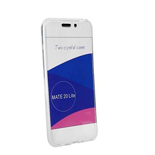 Crazy Kase Beschermhoes voor Huawei Mate 20 Lite, 360°-bescherming, transparant