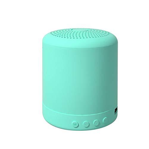 RYRA Altavoz Bluetooth portátil, mini altavoz inalámbrico, sonido envolvente y graves estéreo ricos, para viajes, al aire libre, hogar y fiesta