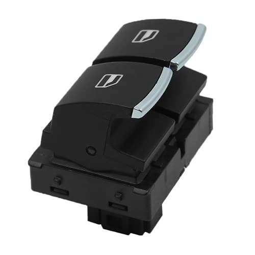YSAZA 5K3959857 Nuevo Interruptor para Interruptor de Ventana eléctrica de Coche Interruptor de regulador de Ventana, para VW Golf GTI EOS MK5 MK6 Caddy 10-13