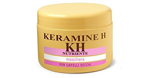 Keramine H Maschera Nutriente, Confezione da 3 x 250 ml