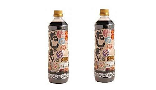 [笛木醤油] だしの素 金笛 春夏秋冬のだしの素 1L×2 /金笛しょうゆ使用