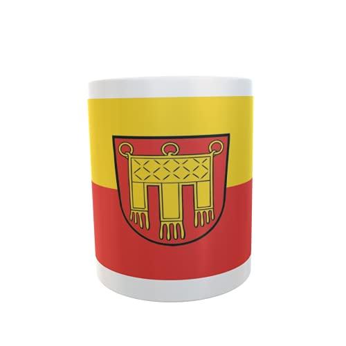 U24 Tasse Kaffeebecher Mug Cup Flagge Herrenberg