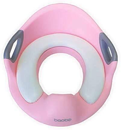 Baobë Kindertoilettensitz, Kinder Toilettensitz WC-Sitz für Jungen Kinder WC-Sitz für Kissengriff und Rückenlehne WC-Trainer für runde und ovale Toiletten